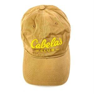 🌸Cabela's Club Yellow Strapback Baseball Cap